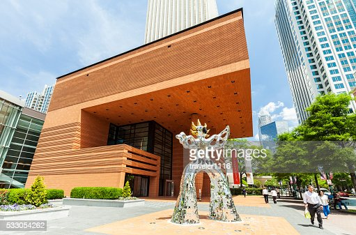 ベクトラー現代美術館もすぐ近くのシャーロット(ノースカロライナ州)