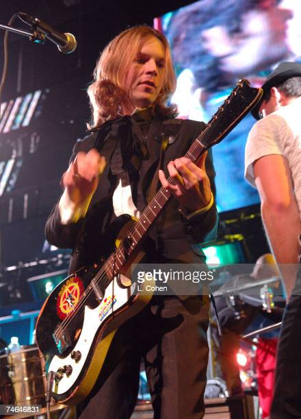 Beck at the Gibson Amphitheater in Universal City California