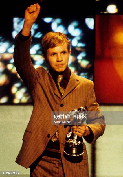 Beck during 1997 MTV Video Music Awards at Radio City Music Hall in New York City New York United States
