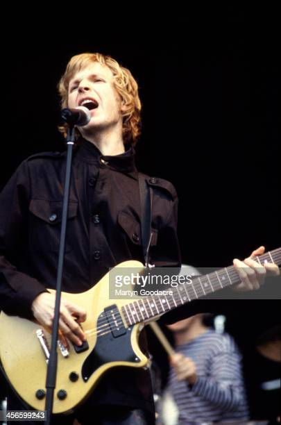 Beck performs on stage at Haigh Hall Manchester United Kingdom 1998