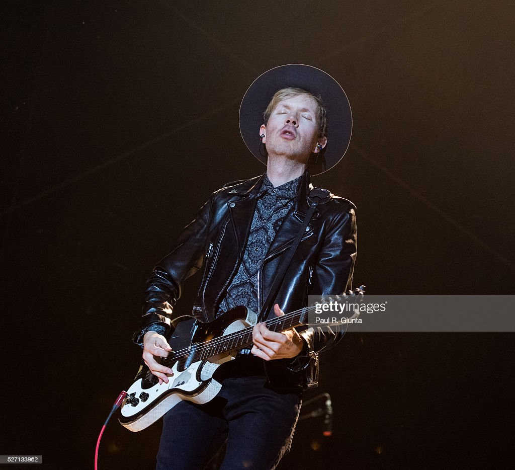 Beck performs on stage at the Beale Street Music Festival on May 1, 2016 in Memphis, Tennessee.
