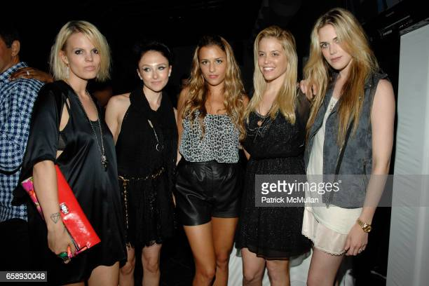 Becka Diamond Stacey Bendet Charlotte Ronson Ali Wise and Byrdie Bell attend CHARLOTTE RONSON JC PENNEY Present I HEART RONSON at Pier 60 on August...