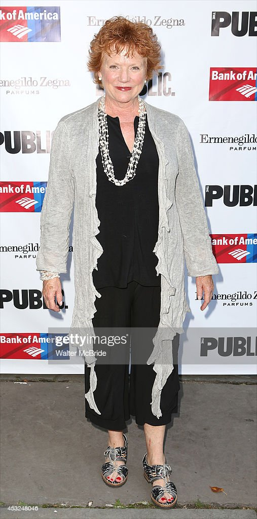 <a gi-track='captionPersonalityLinkClicked' href=/galleries/search?phrase=Becky+Ann+Baker&family=editorial&specificpeople=555990 ng-click='$event.stopPropagation()'>Becky Ann Baker</a> attends the The Public Theatre's Opening Night Performance of 'King Lear' at the Delacorte Theatre on August 5, 2014 in New York City.