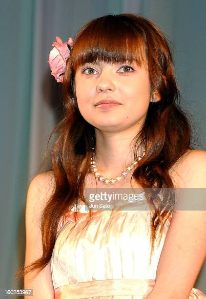 Becky as Hitomi during 'Pokemon the 7th Movie' Tokyo Premiere at Nakano Sun Plaza Hall in Tokyo Japan