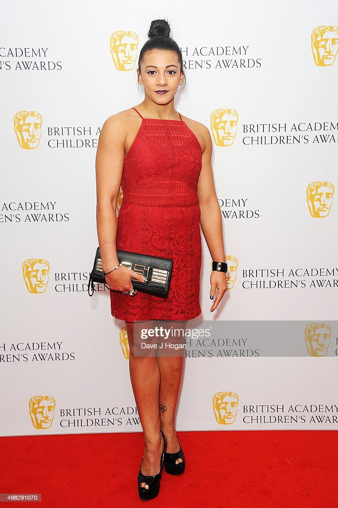 Becky Downie attends the British Academy Children's Awards at The Roundhouse on November 22 2015 in London England