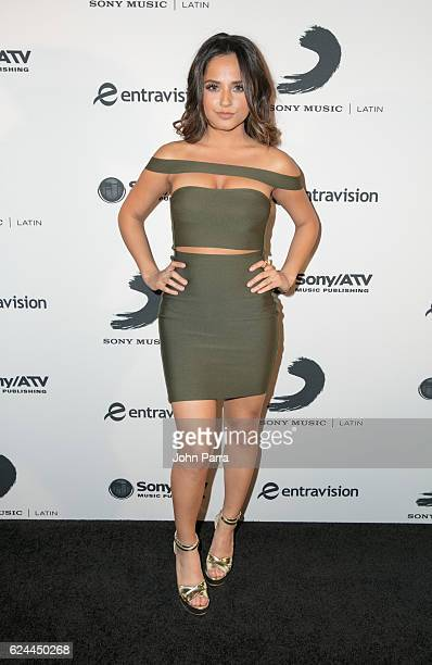 Becky G attends Sony Music Latin Celebrates Its Artists at Their Official Latin Grammy After Party on November 17 2016 in Las Vegas Nevada