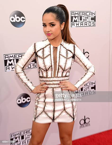 Becky G attends the 2014 American Music Awards at Nokia Theatre LA Live on November 23 2014 in Los Angeles California