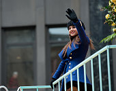 Becky G attends the 88th Annual Macys Thanksgiving Day Parade at on November 27 2014 in New York New York