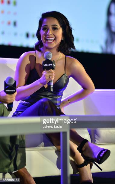 Becky G during The Billboard Latin Music Conference Awards LATINX Activisim panel at Ritz Carlton South Beach on April 26 2017 in Miami Beach Florida