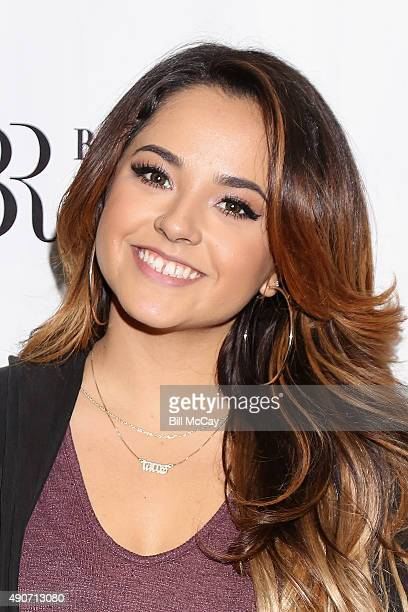Becky G poses at Q102 Performance Theater September 30 2015 in Bala Cynwyd Pennsylvania