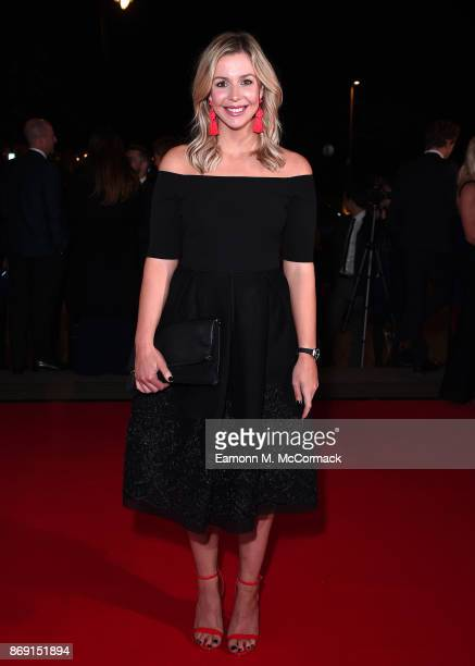 Becky James attends the Team GB Ball at Victoria and Albert Museum on November 1 2017 in London England