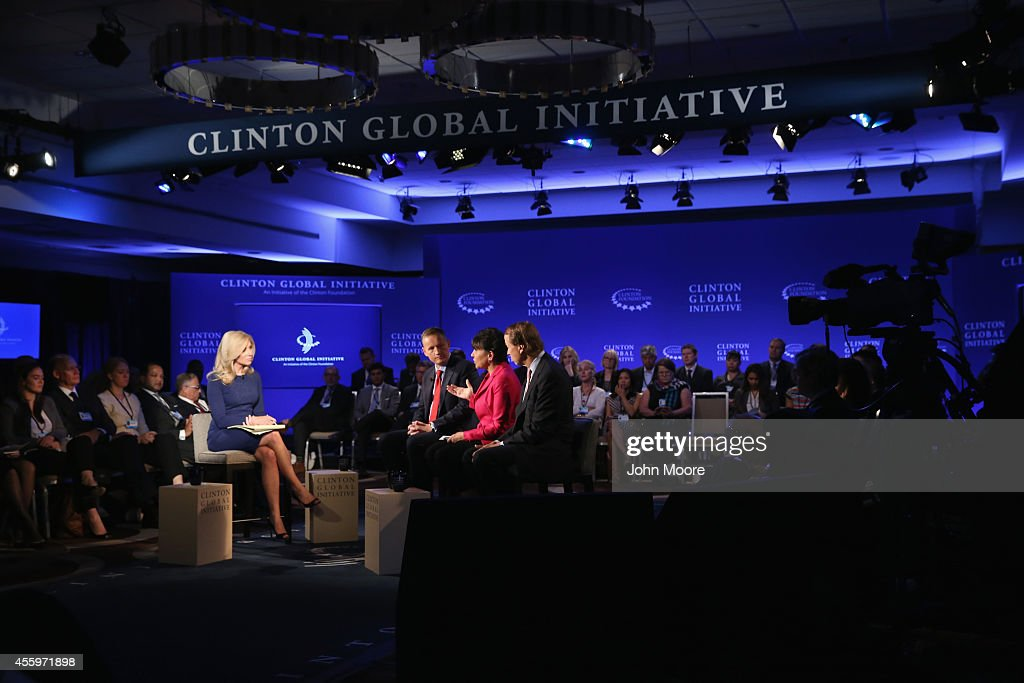 <a gi-track='captionPersonalityLinkClicked' href=/galleries/search?phrase=Becky+Quick&family=editorial&specificpeople=5673535 ng-click='$event.stopPropagation()'>Becky Quick</a>, co-anchor of Squawk Box on CNBC moderates a breakout session including (L-R), <a gi-track='captionPersonalityLinkClicked' href=/galleries/search?phrase=Anthony+Jenkins&family=editorial&specificpeople=3563847 ng-click='$event.stopPropagation()'>Anthony Jenkins</a>, CEO of Barclays, <a gi-track='captionPersonalityLinkClicked' href=/galleries/search?phrase=Penny+Pritzker&family=editorial&specificpeople=5616259 ng-click='$event.stopPropagation()'>Penny Pritzker</a>, U.S. Secretary of Commerce and Tony James, President and COO of Blackstone, while at the Clinton Global Initiative (CGI), on September 23, 2014 in New York City. The annual meeting, established in 2005 by President Clinton, convenes global leaders to discuss solutions to world problems.