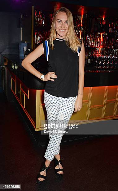 Becky Tong attends Jo Wood and Yasmin Mill's Summer Party at Boujis on July 9 2014 in London England