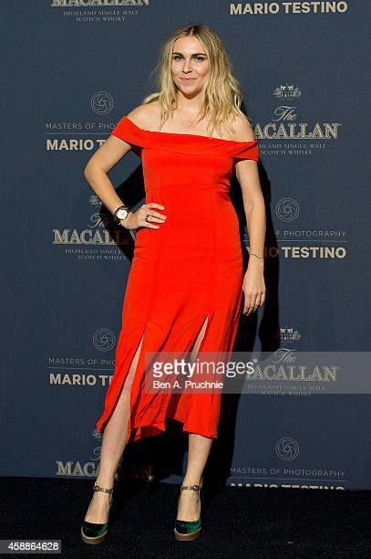 Becky Tong attends The Macallan Masters of Photography Mario Testino Edition launch party at The Ritz on November 12 2014 in London England
