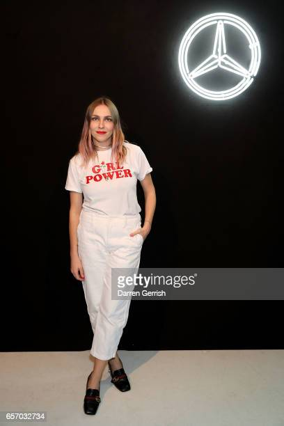Becky Tong attends the MercedesBenz #MBCOLLECTIVE Chapter 1 launch party with M I A and Tommy Genesis on March 23 2017 in London United Kingdom