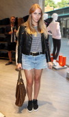 Becky Tong attends the Trilogy flagship store launch party on August 21 2013 in London United Kingdom