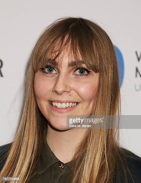 Becky Tong attends the Warner Music Group Post BRIT Party In Association With Samsung at The Savoy Hotel on February 20 2013 in London England