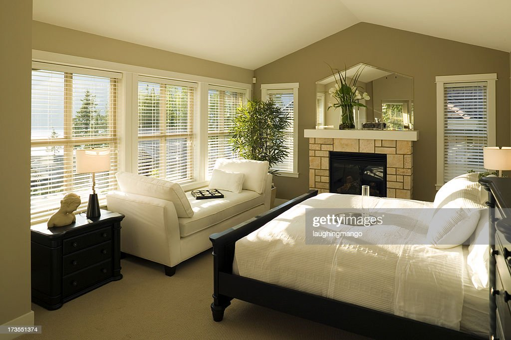bed and breakfast bedroom : Stock Photo