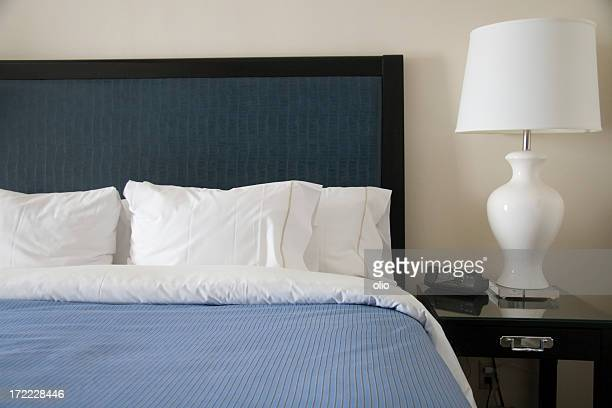 bed of modern hotel