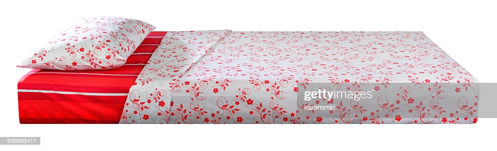 Bed. series. Clipping path : Stock Photo