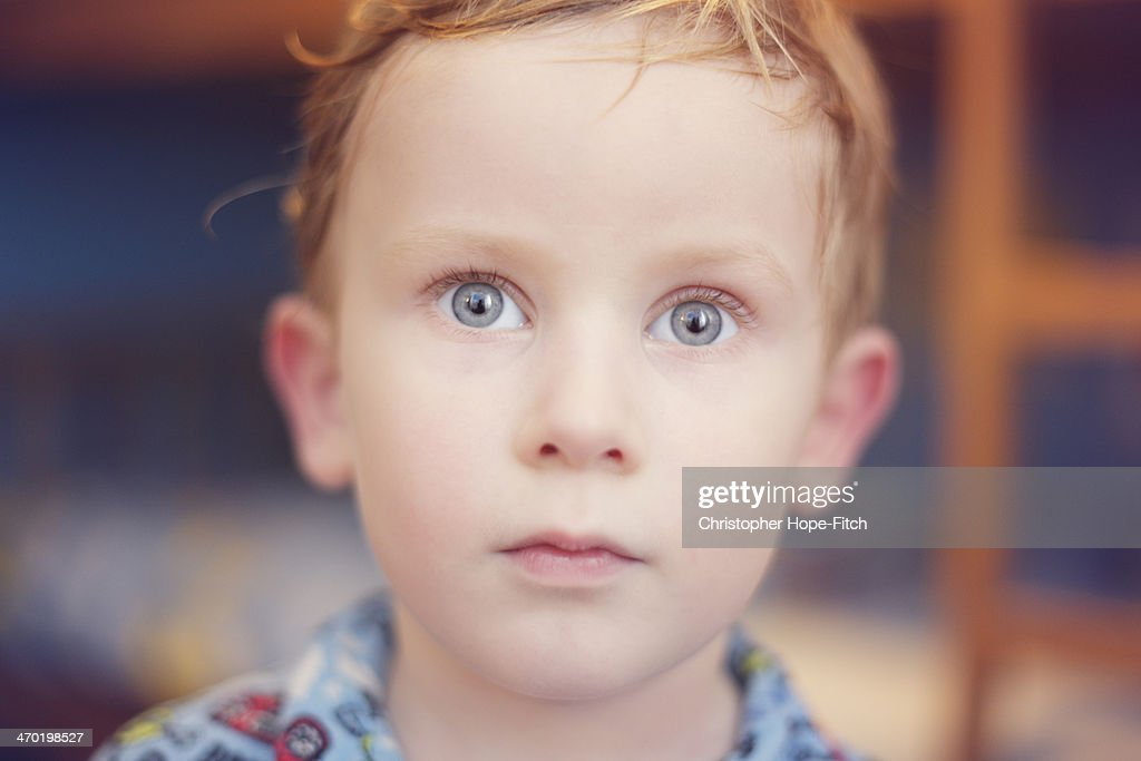 Bed time portrait : Stock Photo