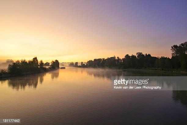 Bedford channel at dawn