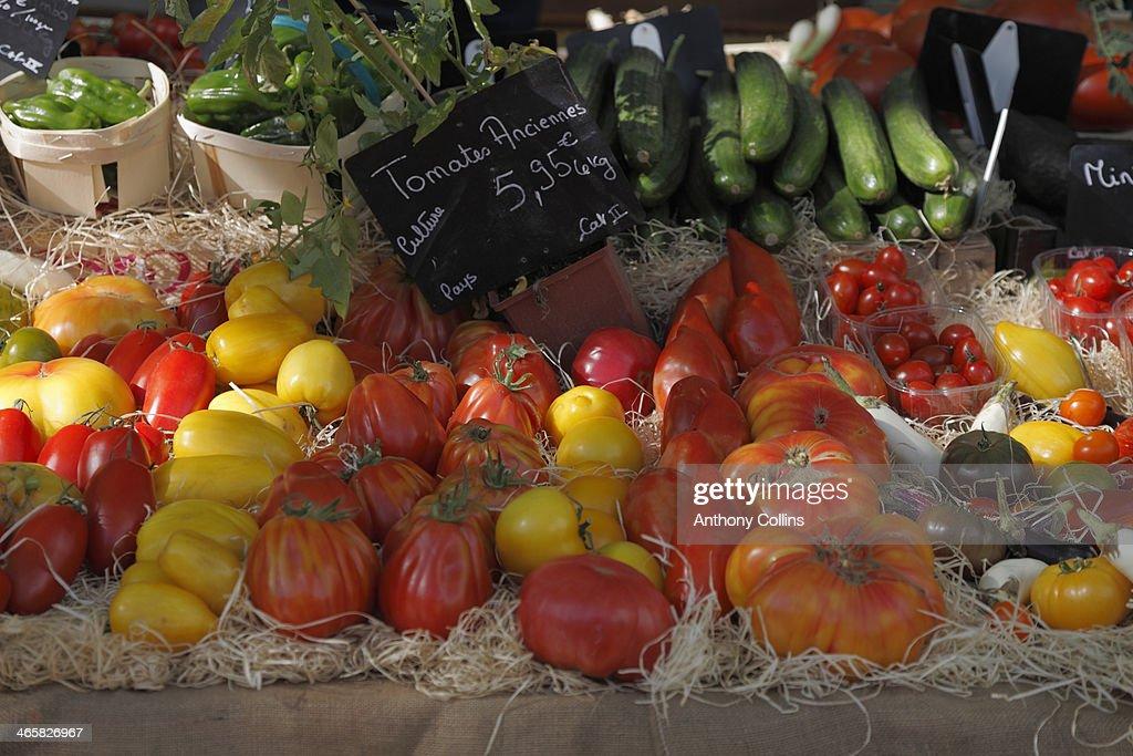 Bedoin market Provence : Photo