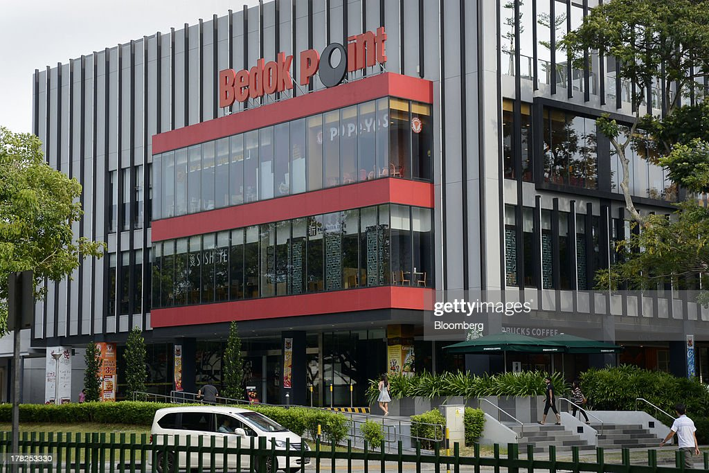 Bedok Point shopping mall, operated by Fraser & Neave Ltd. (F&N) subsidiary Frasers Centrepoint Ltd., stands in Singapore, on Wednesday, Aug. 28, 2013. Fraser & Neave, controlled by Thailands richest man Charoen Sirivadhanabhakdi, climbed the most in five weeks on plans to spin off its property business through a Singapore listing at the end of the year. Photographer: Munshi Ahmed/Bloomberg via Getty Images