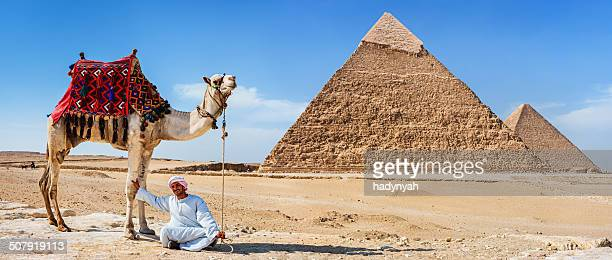 Bedouin and the pyramid