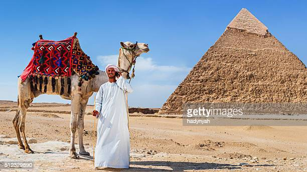 Bedouin using phone