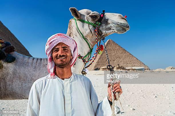 Bédouins avec chameau