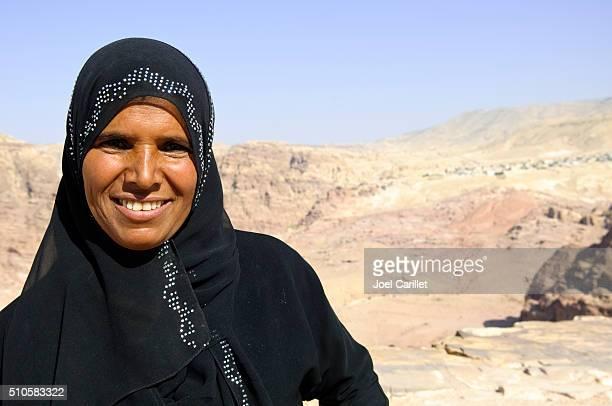 Bedouin woman in Petra, Jordan, Middle East