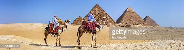 Bedouins and pyramids