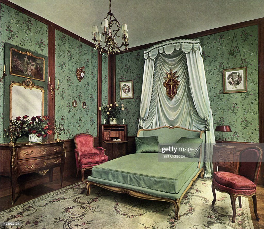 Louis Xv Bedroom Furniture A Bedroom From The Reign Of Louis Xv Room Hotel Des Saints Pares