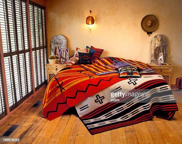 Bedroom in Texas style