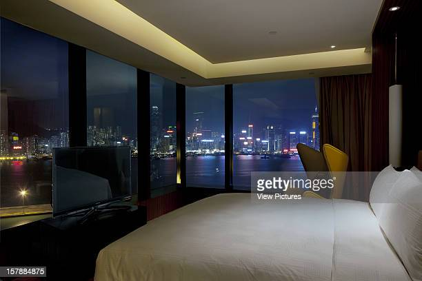 Bedroom With A View Over The Victoria Sound To Hong Kong Island Rocco Yim China Architect