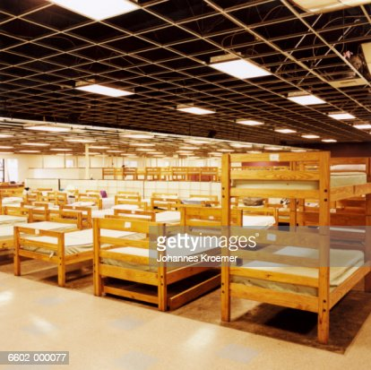 Beds in Homeless Shelter