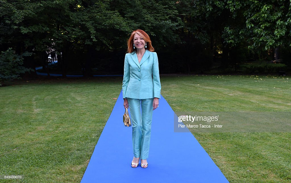 Bedy Moratti attends the gala dinner after FC Internazionale Shareholder's Meeting on June 28, 2016 in Milan, Italy.