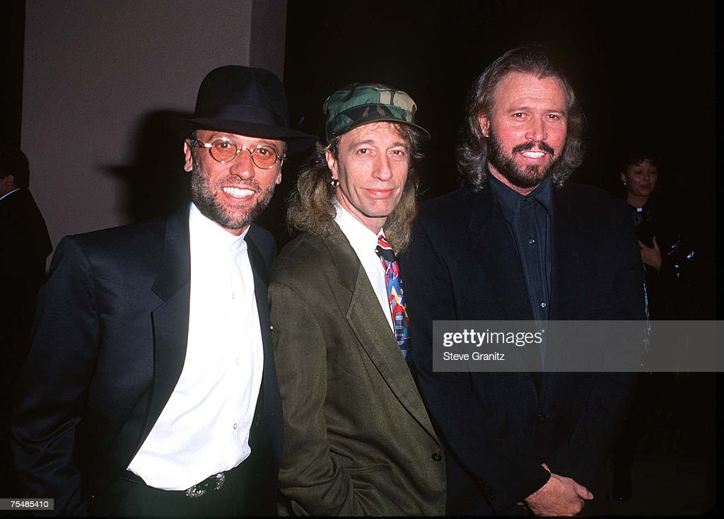 Bee Gees at the Beverly Hills Hotel in Beverly Hills, California