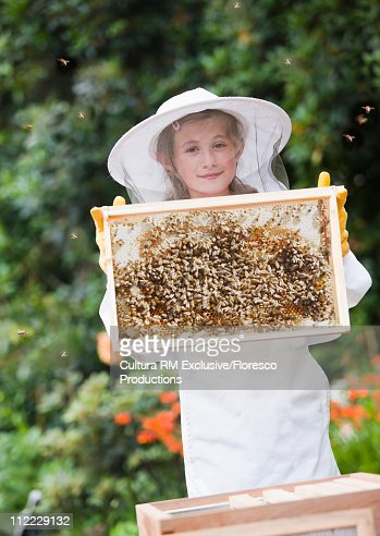 Bee keeping for growing self produce