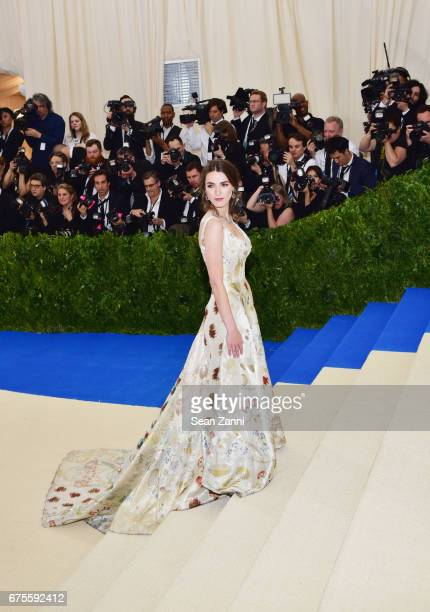 Bee Shaffer arrives at 'Rei Kawakubo/Comme des Garcons Art Of The InBetween' Costume Institute Gala at The Metropolitan Museum on May 1 2017 in New...