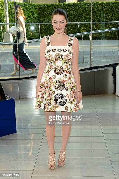 Bee Shaffer attends the 2014 CFDA fashion awards at Alice Tully Hall Lincoln Center on June 2 2014 in New York City