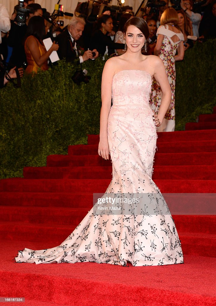 Bee Shaffer attends the Costume Institute Gala for the 'PUNK: Chaos to Couture' exhibition at the Metropolitan Museum of Art on May 6, 2013 in New York City.