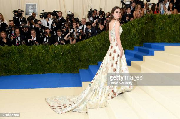 Bee Shaffer attends the 'Rei Kawakubo/Comme des Garcons Art Of The InBetween' Costume Institute Gala at Metropolitan Museum of Art on May 1 2017 in...
