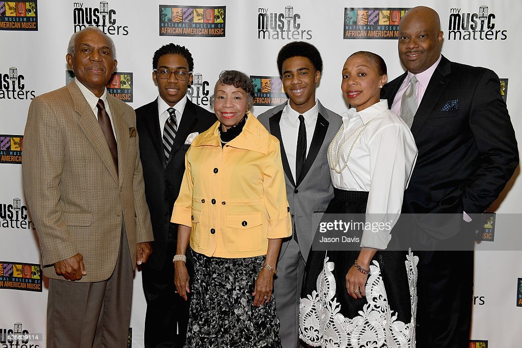 H. Beecher Hicks III, ?President & CEO at National Museum of African American Music and guests attend NMAAM's Celebration Of Legends Red Carpet And Luncheon on May 6, 2016 in Nashville, Tennessee.