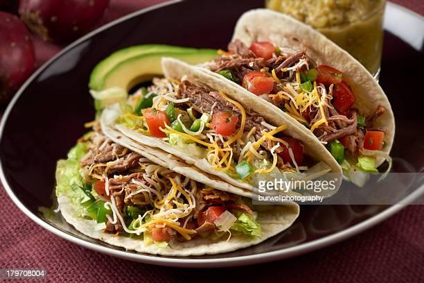 Rindfleisch Barbacoa Tacos