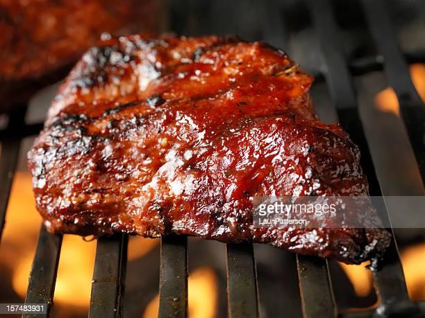 Beef Brisket on the BBQ