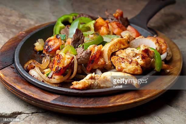 Beef Chicken Shrimp Fajita