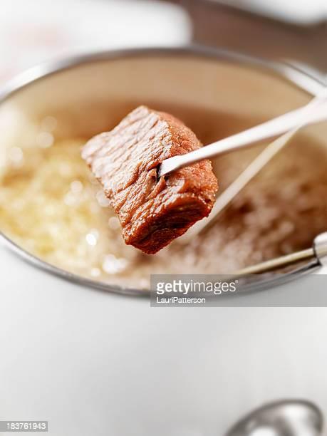 Rindfleisch-Fondue