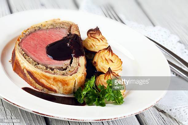 Beef in Puff Pastry